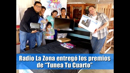 Radio La Zona entregó los premios de ´Tunea Tu Cuarto´