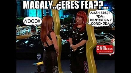 Mira los memes que dejó programa de Magaly Medina