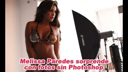 Melissa Paredes sorprende con fotos sin photoshop