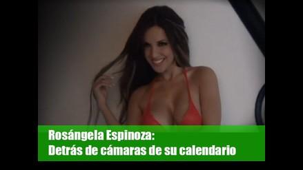 Rosángela Espinoza: Detrás de cámaras de su calendario