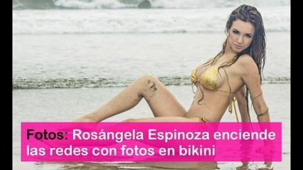 Rosángela Espinoza luce sus encantos y enciende las redes sociales