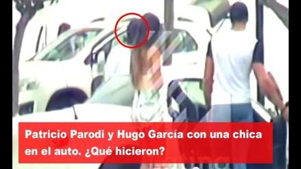 Patricio Parodi y Hugo García con una chica en el auto  ¿Qué hicieron?