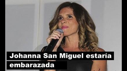 ¿Johanna San Miguel está embarazada?