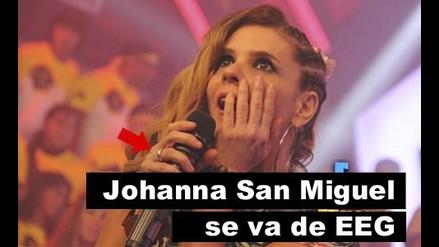 Johanna San Miguel se va de Esto es guerra