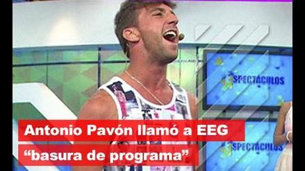Antonio Pavón dijo que EEG es