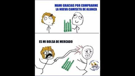 Memes de la camiseta verde de Alianza Lima
