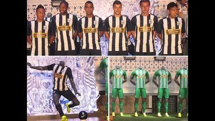 Conoce al detalle las nuevas camisetas de Alianza Lima para el 2015