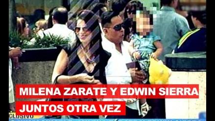 Milena Zarate y Edwin Sierra juntos otra vez