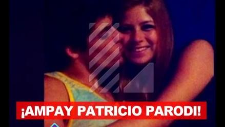 ¡Ampay! Patricio Parodi besa a rubia que no es Sheyla Rojas