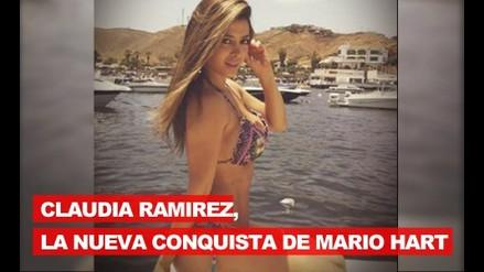 Claudia Ramírez, la nueva conquista de Mario Hart