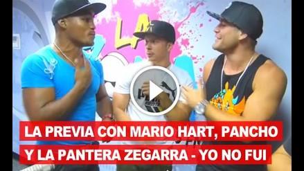 Yo No Fui: La previa con Mario Hart, Pancho y la Pantera Zegarra