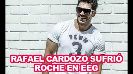 Rafael Cardozo sufrió roche en EEG