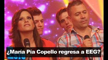 ¿María Pía Copello vuelve  a Esto Es Guerra?