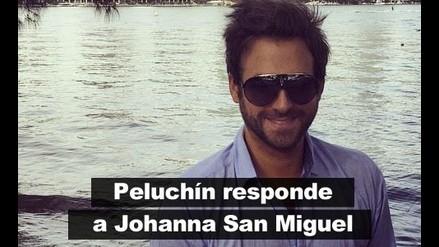 'Peluchín' responde a Johanna San Miguel por demanda