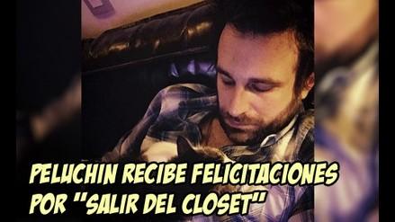 Peluchín recibe felicitaciones por