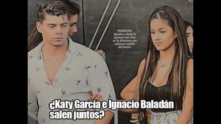 ¿Katy García e Ignacio Baladán salen juntos?