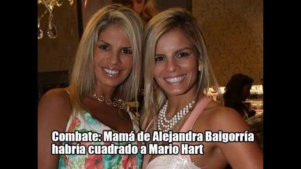 Combate: Mamá de Alejandra Baigorría habría cuadrado a Mario Hart