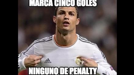 Real Madrid: Memes de la paliza blanca y el repoker de CR7