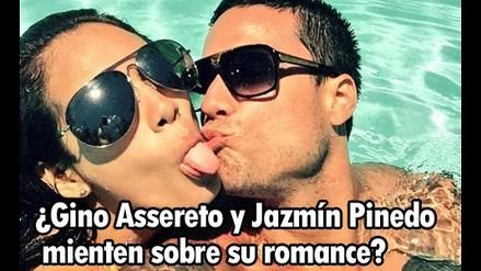¿Gino Assereto y Jazmín Pinedo mienten sobre su romance?