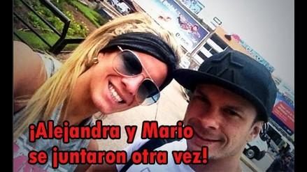 ¿Alejandra Baigorria y Mario Hart se juntaron?