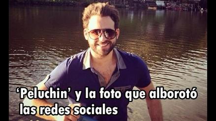 Peluchín presentó a su novio en las redes sociales