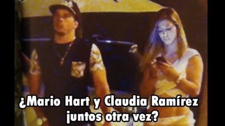 ¿Mario Hart y Claudia Ramírez juntos otra vez?
