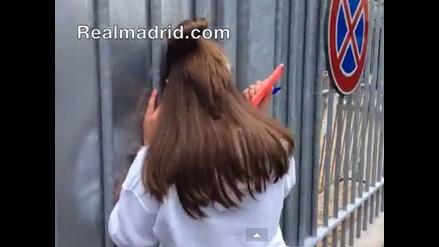 Cristiano Ronaldo hizo llorar a fanática italiana