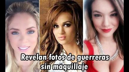 Revelan fotos de Sheyla, Jazmín y Angie sin maquillaje