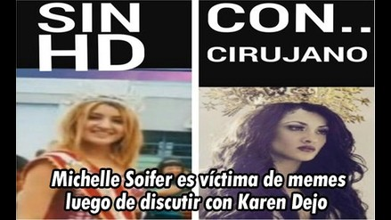 Combate: Michelle Soifer fui víctima de memes tras pelear con Karen Dejo