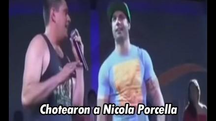 Esto es guerra: Chotean a Nicola Porcella en Discoteca