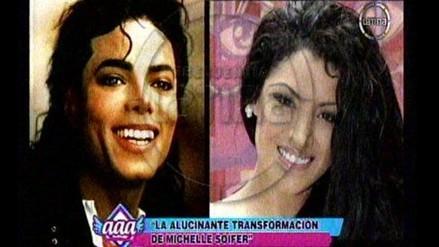 Combate: Michelle Soifer es comparada con Michael Jackson en Twitter