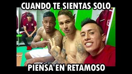 Memes de Edwin Retamoso tras selfie de Farfán, Guerrero y Cueva