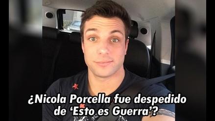Angie Arizaga: ¿Nicola Porcella fue despedido de 'Esto es guerra'?