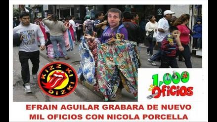 Nicola Porcella y los memes tras reabrir su tienda
