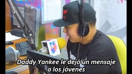 Daddy Yankee dejó un mensaje a todos los jóvenes