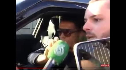 YouTube: Cristiano Ronaldo explotó con periodista y le tiró el micro