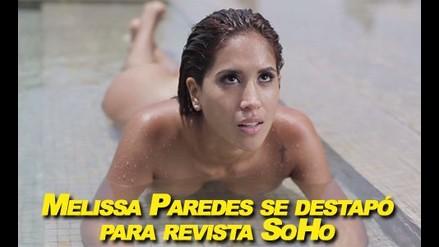 Melissa Paredes se destapó para la revista SoHo