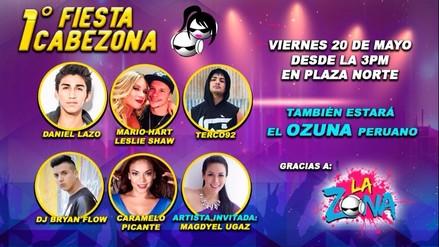 Primera Fiesta Cabezona: Revive lo mejor del evento de radio La Zona
