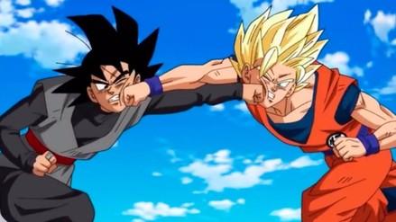 Dragon Ball Super: así fue el primer duelo entre Gokú y Black Gokú