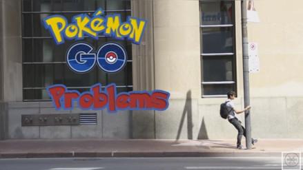 YouTube: Joven invade las vías del tren para atrapar un pokémon