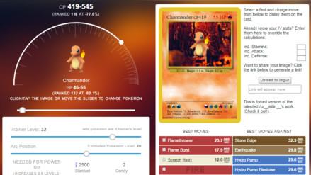 Pokémon Go: IV Rater la aplicación para conocer valores ocultos de tus Pokémon