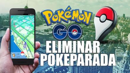 Pokémon Go: ¿Cómo eliminar una Poképarada o Gimnasio?