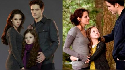 Así luce 'Renesmee Cullen', la hija de 'Bella' y 'Edward' en Crepúsculo