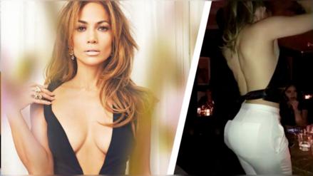 Jennifer Lopéz y su sexy baile que alborota las redes