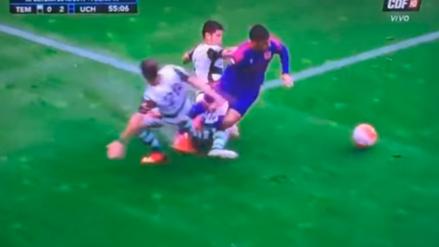 YouTube: Conocido jugador argentino se fracturó la pierna