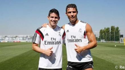 YouTube: Cristiano Ronaldo y James Rodríguez llegaron a entrenamiento al estilo 'Rápidos y Furiosos'