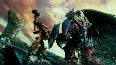 Transformers 5: el nuevo adelanto muestra la pelea entre Bumblebee y Optimus Prime
