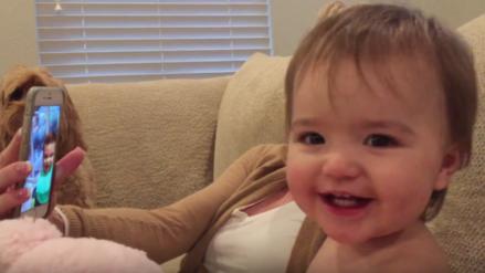 """YouTube: Bebés """"hablan"""" entre ellos por videollamada y las imágenes se vuelven viral"""