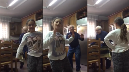 """YouTube: Video de abuelo bailando """"Despacito"""" se vuelve tendencia"""