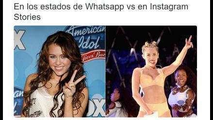 Ola de divertidos memes y comentarios invaden las redes sociales por los stories de WhatsApp